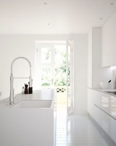 projekt kuchni w bieli