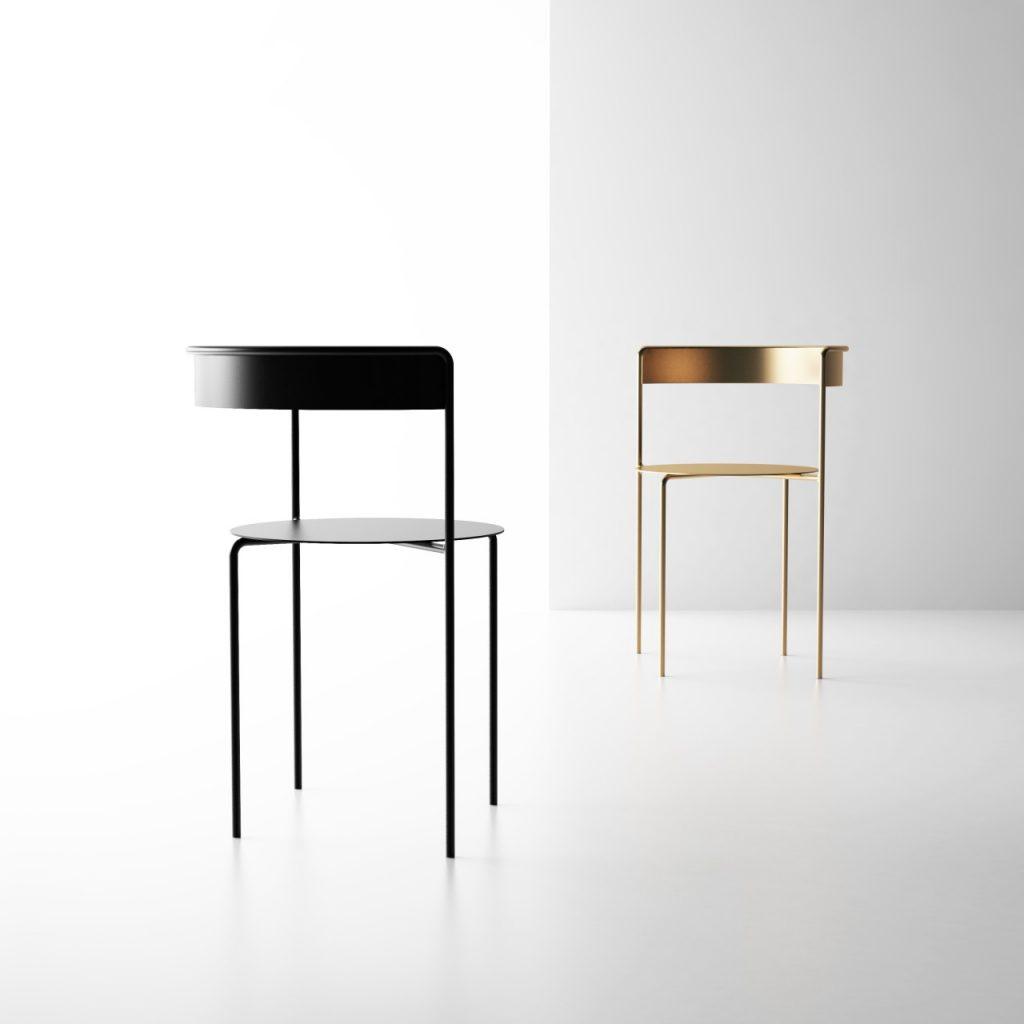 simplika krzesło minimalizm