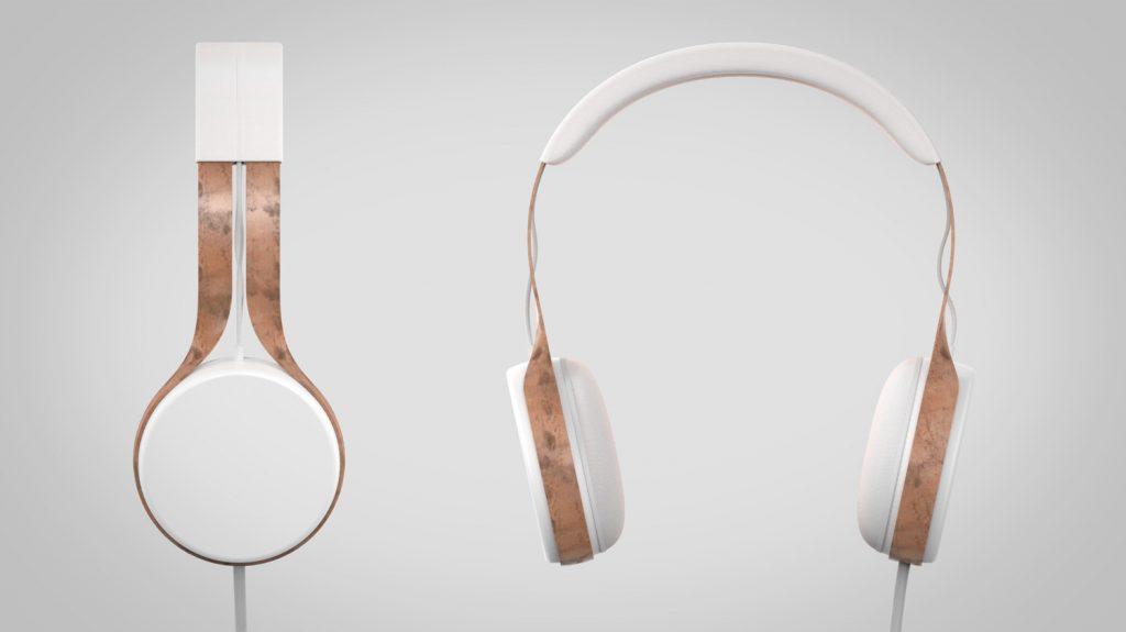 minimalistyczne słuchawki